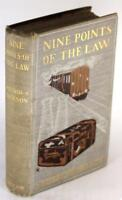 First Edition 1903 Nine Points Of The Law Wilfrid Jackson Train Mystery HC