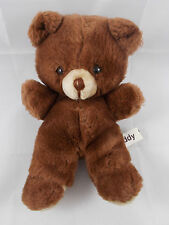 "Russ TEDDY Brown Bear Plush 8.5"" Korea"