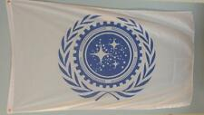 3 x 5 STARFLEET Command AdmiralsFlag Star Trek Voyager DS9 Solar Trump Polyester