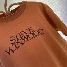 Vintage 1970s Steve Winwood T Shirt Size Medium Soft Worn Cotton Beat Surf Skate