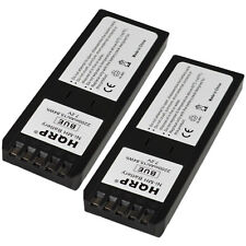 2-Pack HQRP Battery for Fluke DSP-100 DSP-2000 DSP-4000 DSP-4100 DSP-4300