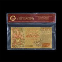 WR Farbige Hong Kong Banknote Gold $ 1 Million Dollar Drache Geldschein