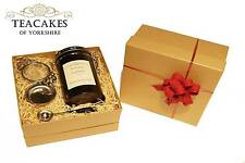 Honey & Liquorice Tea Gift Set Natural Wrapped loose 100g Caddy Strainer Spoon