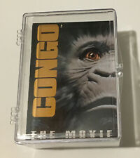 1995 CONGO THE MOVIE COMPLETE TRADING CARD SET - 90 CARDS MINT