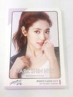 Park Shin Hye ShinHye Postcard Set + Sticker KPOP Korea Post Card Korean Actor