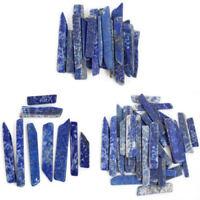 50G Natural Lapis lazuli Quartz Crystal Point Specimen Healing Stone Charm