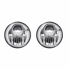 RECON 264274CL Jeep Wrangler 07-16 Clear-Chrome Headlights Projector