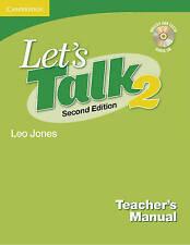 Let's Talk Teacher's Manual 2 with Audio CD by Leo Jones Paperback