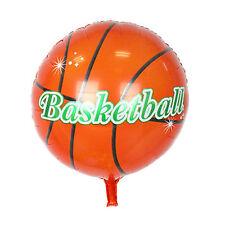 "5pcs Basketball Print Helium Foil Balloon Sports Party Decoration 18"""