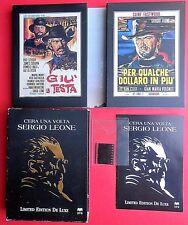 6 dvd rare box set limited edition c'era una volta sergio leone giù la testa abc