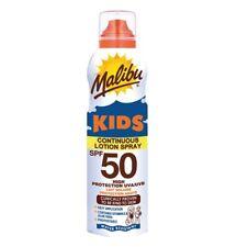 Malibu Bambini Alto Protezione Solare Lozione Continuo Aerosol Spray Spf 50