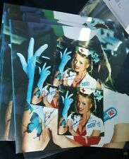 (1) Janine Lindemulder Signed CD booklet with disc Blink 182 Enema of the State