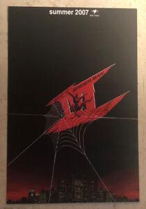 Movie Postcard ~ Spider-Man Web with flying spider