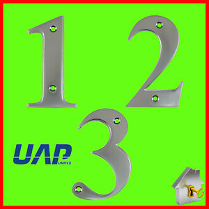 Door Number Times New Roman 3 Inch Numerals House Flat Apartment Shop Numbers
