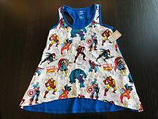Nwt New Disney Marvel Comic Women's Tank Top Shirt Size Small 4 6