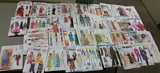 Lot Of 35 Dress, Blouse, and Outfit Easy to Sew Clothing Patterns