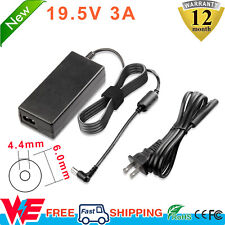 New listing For Sony Vaio 19.5V Power Supply Cord Vgp Laptop Notebook Ac Adapter Charger
