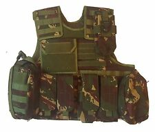 New XLarge DPM Plate Carrier W/Soft body armor inserts Vest MOLLE