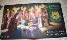 Game of Thrones LCG - Lokalmeisterschaften 2016 Spielmatte Promo - NEU