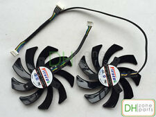 85mm 12V FD7010H12S Server Cooling Fan For Sapphire Radeon HD 7790 7870 7950