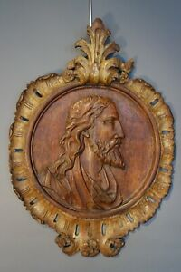 17th Century Carved Relief of Christ