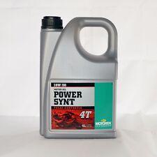 Motorex Power Synt 4T 10W50 4 Liter Kanister Öl Motoröl Motorenöl 4-Takt 10 W50