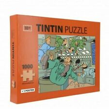 TINTIN Puzzle Weightlessness in Moon Rocket With Poster 50x66 5cm 81550 2019