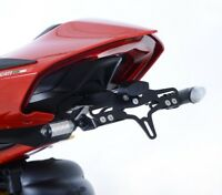 R&G Racing Tail Tidy Kit, Ducati Panigale V4, Number Plate Holder, LP0243BK
