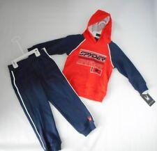Spyder 2 Pc Sweat Outfit Set Hooded Sweatshirt & Jogger Pants Boys Size 5 New