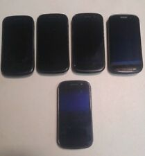 Lot Of 5 Google Nexus S (SPH-D720) - 16GB - Black Sprint - No Power