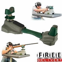 Shooting Rest Rifle Pistol Bench Hunting Precision Adjustable Bench Gun Cleaning