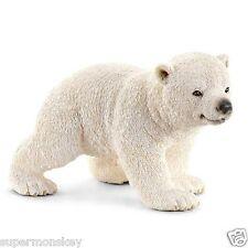 GERMANY SCHLEICH WORLD OF NATURE MODEL SH14708 BABY POLAR BEAR
