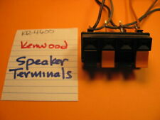 Kenwood Speaker Terminals Kr-4600 Stereo Receiver