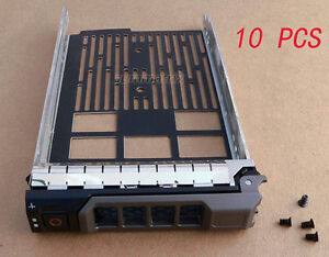 10* 3.5'' for Dell Server Caddy PowerEdge R710 R720 R520 T310 T410 T620 Hot Swap