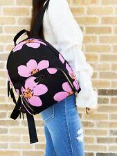Kate Spade рассвет Гранд Флора Брэдли рюкзак черный розовый цветочный
