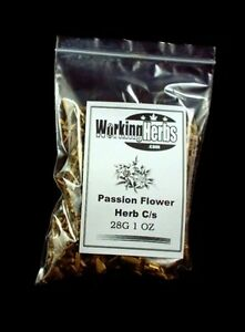 Passion Flower Tea dried Herb Cut Sifted passiflora passionflower 1 OZ Bag
