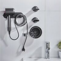 Wall Mounted Holder for Dyson Supersonic Hair Dryer, Self Adhesive Wall HangK6B1