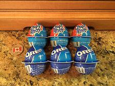 6 Cadbury Creme Chocolate Easter Eggs! Oreo & Chips Ahoy Cream! Ships from USA!!