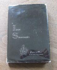 POETICS OF MUSIC by Igor Stravinsky -1st HCDJ 1947 - Harvard $2.50 Picasso