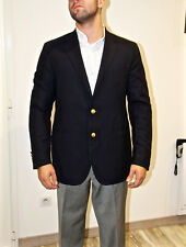 RALPH LAUREN luxueuse veste de costume laine extra fine marine TAILLE 54 7R = XL