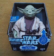 More details for star wars 2004 talking interactive ask yoda figure hasbro - boxed