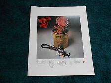 Rolling Stones Poster Sticky Fingers Album Cover Artwork Lithograph SIGNED LV RM