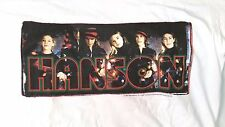 1997 Hanson graphic t-shirt adult sz M Christmas Split Polygram vintage 90s