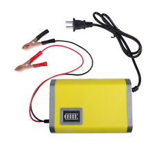 Car Motorcycle Engine Battery Charger Power Bank LED display Maintainer Trickle