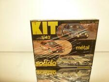 SOLIDO 5082 ALFA ROMEO ALFETTA GTV - 1:43 - UNBUILT KIT IN BOX