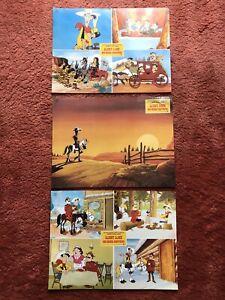 Lucky Luke - Das grosse Abenteuer Aushangfotos Groß, 3 Stck. 30x42cm