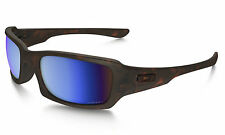Oakley Fives Squared Matte Tort Polarized Prizm Deep Water Sunglasses OO9238-17