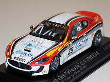 1/43 Minichamps Maserati Mc Gt4 Test Car Trofeo Gran Turismo Mc 2010 Smurra