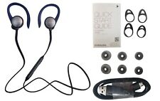 Samsung Level Active Wireless Bluetooth Fitness Earbuds Blue Black Eo-Bg930 New