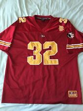 Florida State Seminoles #32 Colosseum Ncaa Football Jersey Red Yellow Xl Euc